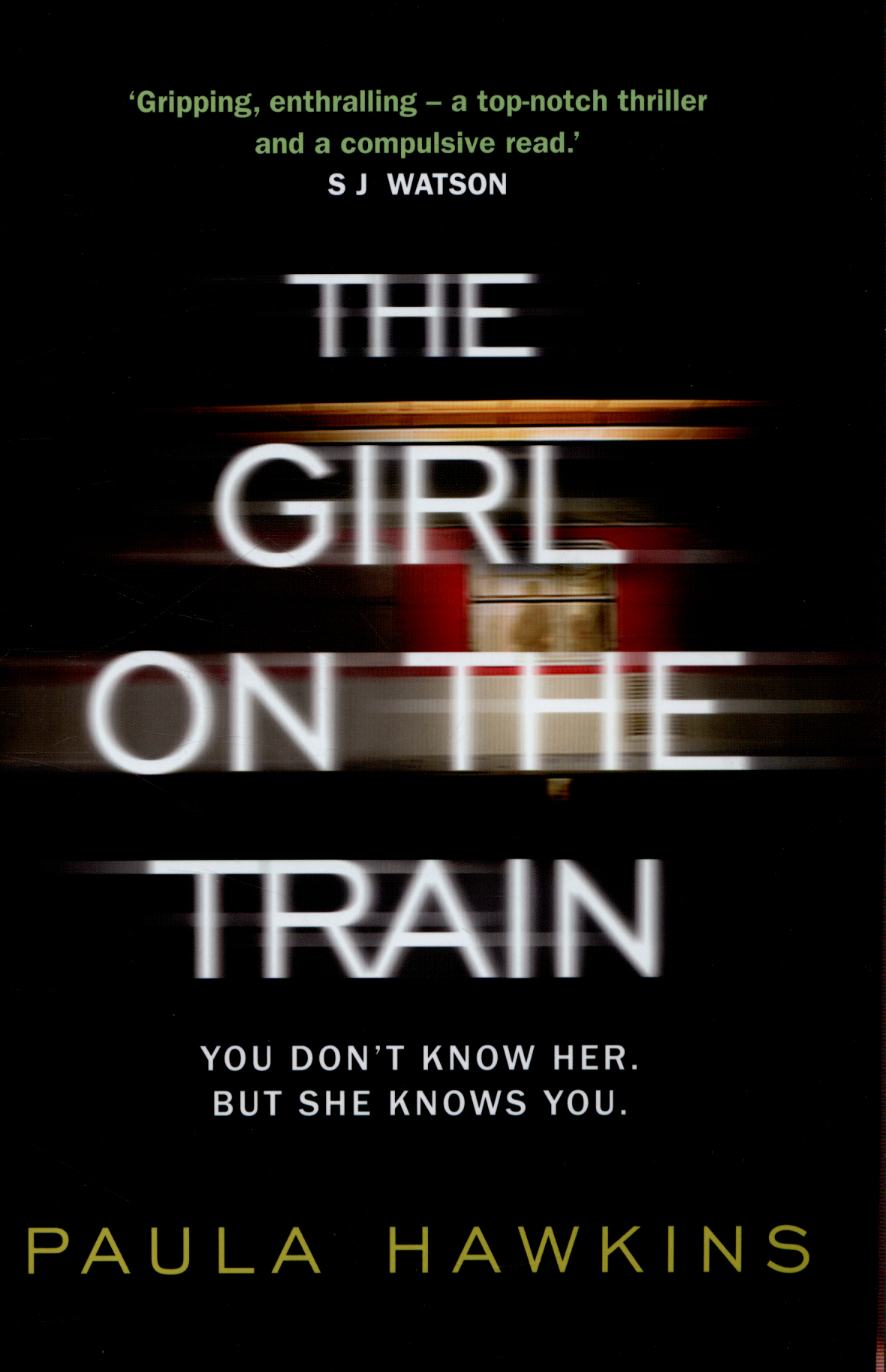 the girl on the train resume